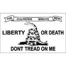 Eagle Emblems F2424 Flag-Dont Tread On Me Iii (2Ftx3Ft)    Culpeper .