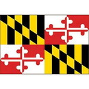 Eagle Emblems F2521 Flag-Maryland (2Ftx3Ft) .