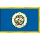 Eagle Emblems F2524 Flag-Minnesota (2Ftx3Ft) .