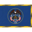 Eagle Emblems F2545 Flag-Utah (2Ftx3Ft) .
