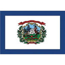 Eagle Emblems F2549 Flag-West Virginia (2Ftx3Ft) .
