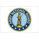 Eagle Emblems F2897 Flag-Army, National Guard (2Ftx3Ft)