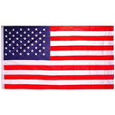 Eagle Emblems F3132-08 Flag-Usa Nylon, Embroid. (05Ftx08Ft)  Foreign Mfg