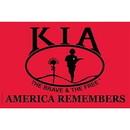 Eagle Emblems F3142-03 Flag-Kia Honor, Nyl-Glo (2Ftx3Ft)   Made In Usa