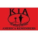 Eagle Emblems F3242-06 Flag-Kia Honor, Poly-Knit (4Ftx6Ft)   Heavy Duty
