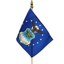 Eagle Emblems F6304 Flag-Usaf (4In X 6In) .