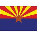 Eagle Emblems F6503 Flag-Arizona (4In X 6In) .