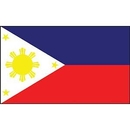 Eagle Emblems F8088 Flag-Philippines (12In X 18In) .
