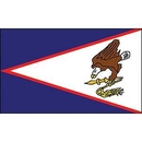 Eagle Emblems F8284 Flag-American Samoa (12In X 18In) .