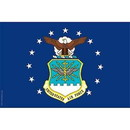 Eagle Emblems F8304 Flag-Usaf (12In X 18In) .
