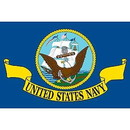 Eagle Emblems F8306 Flag-Usn (12In X 18In) .