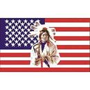 Eagle Emblems F8451 Flag-Usa, Native American (12In X 18In) .