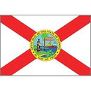 Eagle Emblems F8510 Flag-Florida (12In X 18In) .