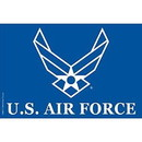 Eagle Emblems F8865 Flag-Usaf Ii, (4