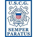 Eagle Emblems F9032 Banner-U.S.Coast Guard (29