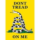 Eagle Emblems F9038 Banner-Dont Tread On Me (29