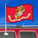 Eagle Emblems F9705 Flag-Car, Usmc (12In X 18In) .