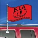 Eagle Emblems F9716 Flag-Car, Kia Honor (12In X 18In) .