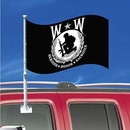 Eagle Emblems F9739 Flag-Car, Wounded Warrior (12In X 18In) .