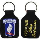 Eagle Emblems KC0005 Key Ring-Army, 173Rd A/B Embr. (1-3/4