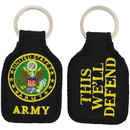 Eagle Emblems KC0016 Key Ring-Army Symbol Embr. (1-3/4