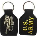 Eagle Emblems KC0017 Key Ring-Army, Tank, Armor Embr. (1-3/4