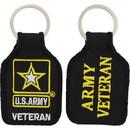 Eagle Emblems KC0042 Key Ring-Army Veteran Embr. (1-3/4