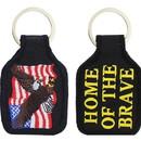 Eagle Emblems KC0062 Key Ring-Usa Eagle Embr. (1-3/4