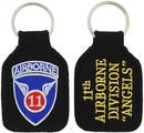 Eagle Emblems KC0111 Key Ring-Army, 011Th A/B Embr. (1-3/4
