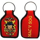 Eagle Emblems KC0163 Key Ring-Vietnam Mac-V Embr. (1-3/4