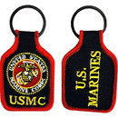 Eagle Emblems KC0189 Key Ring-Usmc Logo Embr. (1-3/4