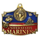 Eagle Emblems KC2006 Key Ring-Usmc Action Zinc-Pwt (1-1/2