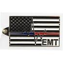 Eagle Emblems KC2025 Key Ring-Emt, Red/Blue Zinc-Pwt (1-1/2