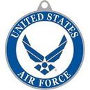 Eagle Emblems KC2046 Key Ring-Usaf Symbol Iii Zinc-Pwt (1-1/2