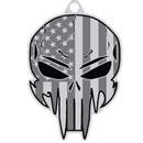 Eagle Emblems KC2072 Key Ring-Demon Skull Zinc-Pwt (1-1/2