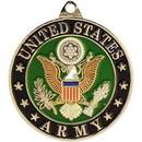 Eagle Emblems KC2075 Key Ring-Army Symbol Zinc-Pwt (1-1/2