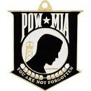 Eagle Emblems KC2152 Key Ring-Pow*Mia Zinc-Pwt (1-9/16