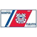 Eagle Emblems LP0515 Lic-Uscg Logo, Semper Paratus (6