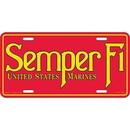 Eagle Emblems LP0555 Lic-Usmc, Semper Fi (6