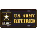 Eagle Emblems LP0577 Lic-Army Logo, Retired (6