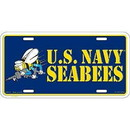 Eagle Emblems LP0679 Lic-Usn, Seabees (6