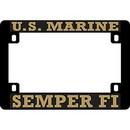 Eagle Emblems LP0815 Lic.Frame, Usmc, Semper Fi (Hvy.Plastic) Moto (5