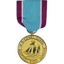 Eagle Emblems M0011 Medal-Uscg, Dist.Service (2-7/8