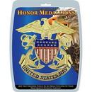 Eagle Emblems MD1008 Medallion-Usn (6-1/4