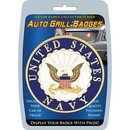 Eagle Emblems MD6101 Car Grill Badge-Usn (3