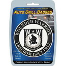 Eagle Emblems MD6118 Car Grill Badge-Wounded Warrior       (3