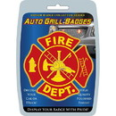 Eagle Emblems MD6120 Car Grill Badge-Fire Dept (3