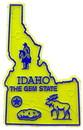 Eagle Emblems MG0013 Magnet-Sta, Idaho Approx.2 Inch