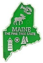 Eagle Emblems MG0020 Magnet-Sta, Maine Approx.2 Inch