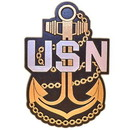 Eagle Emblems MG0110 Magnet-Usn, Anchor (4